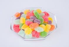 конфеты или конфеты студня на предпосылке Стоковые Фотографии RF