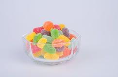 конфеты или конфеты студня на предпосылке Стоковое Фото