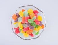 конфеты или конфеты студня на предпосылке Стоковая Фотография