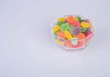 конфеты или конфеты студня на предпосылке Стоковая Фотография RF
