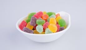 конфеты или конфеты студня на предпосылке Стоковое Изображение