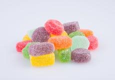 конфеты или конфеты студня на предпосылке Стоковые Фото