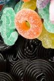 Конфеты и солодка стоковые изображения rf