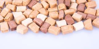Конфеты Конфеты карамельки конфеты карамельки на предпосылке caram Стоковые Изображения RF