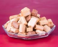 Конфеты Конфеты карамельки конфеты карамельки на предпосылке caram Стоковая Фотография RF