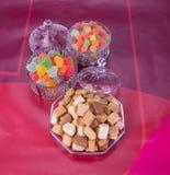 Конфеты Конфеты карамельки конфеты карамельки на предпосылке caram Стоковые Фото