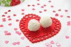 Конфеты кокоса Стоковое Фото