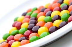 конфеты покрывают белизну Стоковое Изображение RF