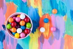 Конфеты пузыря камедеобразные Стоковая Фотография