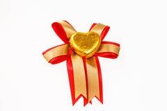 Конфеты сердец шоколада Стоковые Изображения