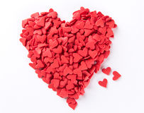 Конфеты сердца форменные Стоковое Изображение RF