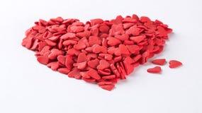 Конфеты сердца форменные Стоковое фото RF
