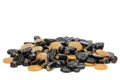 Конфеты солодки стоковое изображение