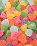 Конфеты конфеты студня на предпосылке конфеты студня на backg Стоковые Изображения