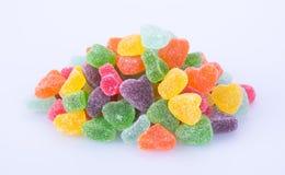 Конфеты конфеты студня на предпосылке конфеты студня на backg Стоковые Фото