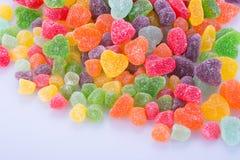 Конфеты конфеты студня на предпосылке конфеты студня на backg Стоковые Фотографии RF