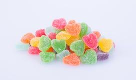 Конфеты конфеты студня на предпосылке конфеты студня на backg Стоковая Фотография RF