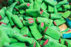 конфеты студня на предпосылке Стоковые Изображения RF