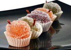 Конфеты студня плодоовощ цвета Стоковое фото RF