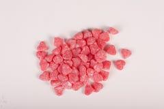 Конфеты с формой сердец Стоковые Фото
