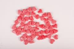 Конфеты с формой сердец Стоковое Фото