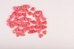 Конфеты с формой сердец Стоковая Фотография RF