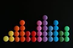 конфеты шаловливые стоковая фотография rf