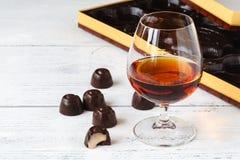 Конфеты шоколада с рябиновкой Стоковые Изображения RF