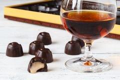 Конфеты шоколада с рябиновкой Стоковая Фотография