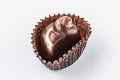 Конфеты шоколада изолированные на белой предпосылке Стоковые Фотографии RF