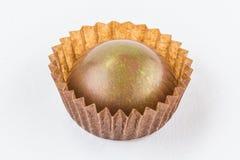 Конфеты шоколада изолированные на белой предпосылке Стоковое фото RF