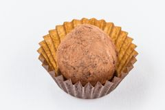 Конфеты шоколада изолированные на белой предпосылке Стоковая Фотография RF