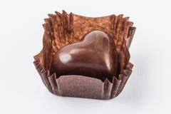 Конфеты шоколада изолированные на белой предпосылке Стоковые Изображения RF