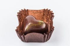 Конфеты шоколада изолированные на белой предпосылке Стоковые Изображения