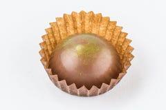 Конфеты шоколада изолированные на белой предпосылке Стоковое Фото