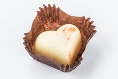 Конфеты шоколада изолированные на белой предпосылке Стоковые Фото