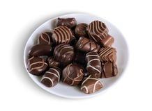 Конфеты шоколада Стоковая Фотография