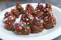 Конфеты шоколада Стоковое Фото