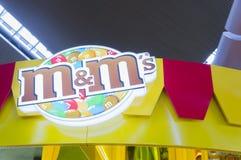 Конфеты шоколада ` s M&M Стоковые Изображения RF