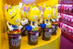 Конфеты шоколада ` s M&M Стоковое Изображение RF