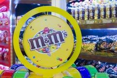 Конфеты шоколада ` s M&M Стоковые Изображения
