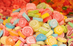Конфеты multycolored сахаром Стоковые Фотографии RF