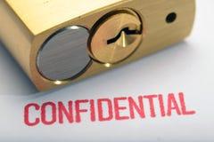Конфиденциальность 4 Стоковые Изображения RF