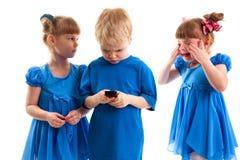 Конфликт над телефоном Стоковая Фотография RF