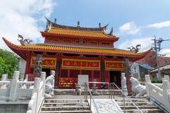 Конфуцианский висок в Нагасаки, Японии Стоковые Фото