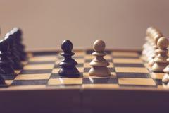 Конфликт интересов Стоковое Изображение