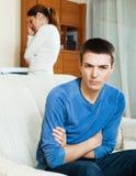 Конфликт семьи Стоковые Фотографии RF
