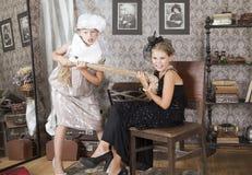 Конфликт для платья Стоковая Фотография
