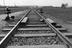Концентрационный лагерь Освенцим Стоковое фото RF