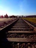 Концентрационный лагерь Освенцим Стоковая Фотография